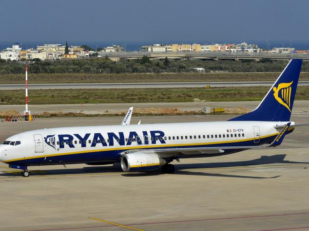 Ryanair, un miliardo di investimenti in Italia nel 2017