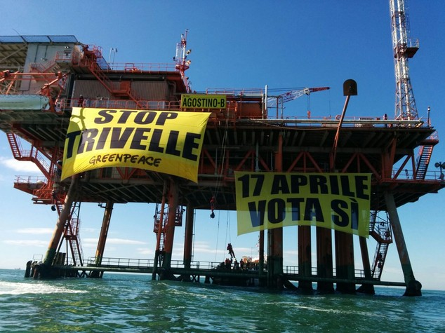 Trivelle: aziende e lavoratori offshore Ravenna, no a Greenpeace