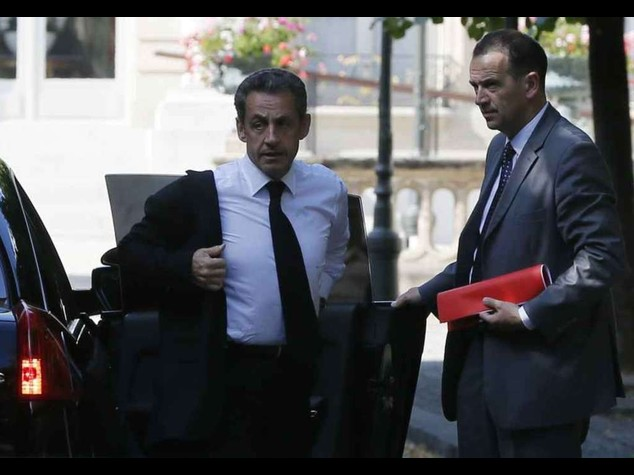 France's Sarkozy detained over alleged corruption