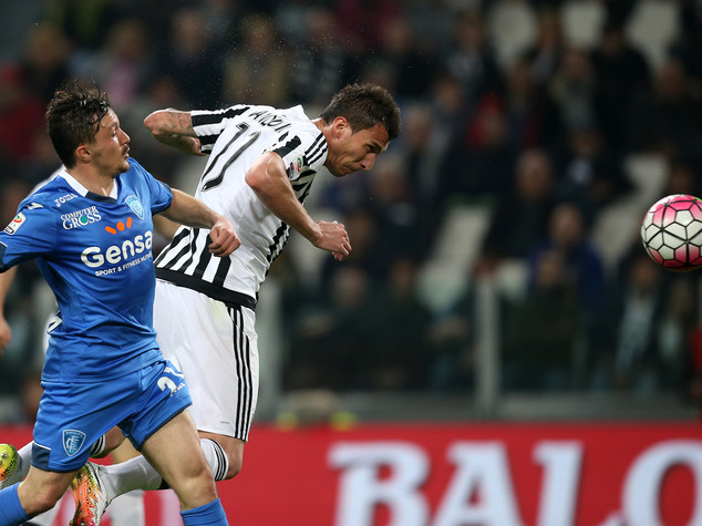 La Juventus vola con Mandzukic, Empoli battuto 1-0