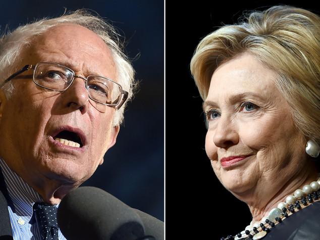 Sanders batte Hillary, nuovo trionfo per Trump