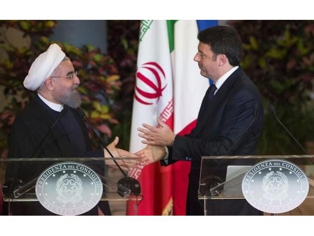 Incontro tra Renzi e Rohani a Teheran: