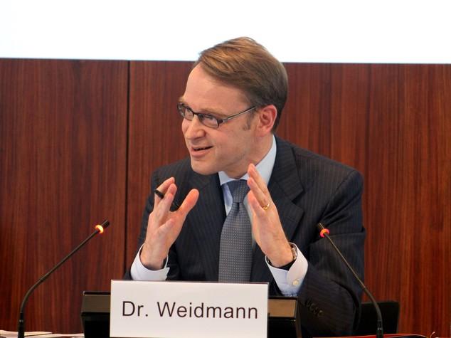 "Weidmann ""Italia ha gia' abusato di flessibilita', ora riforme"""