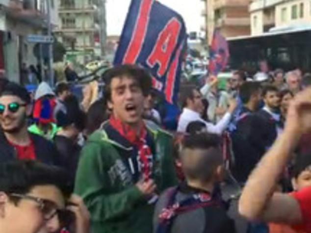 Storica promozione del Crotone in A con l'1-1 a Modena