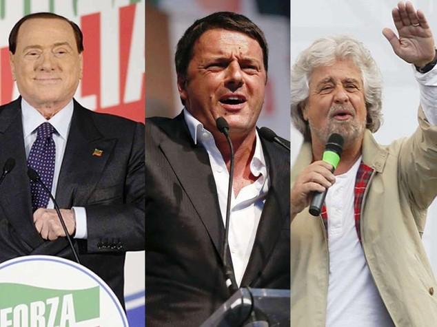 Renzi: condannati? Grillo-Cav definitivi, io fedina pulita