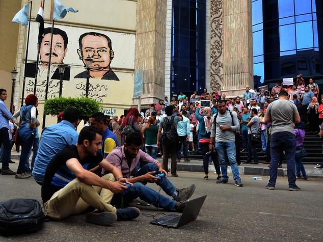 Arrestato presidente sindacato giornalisti egiziano