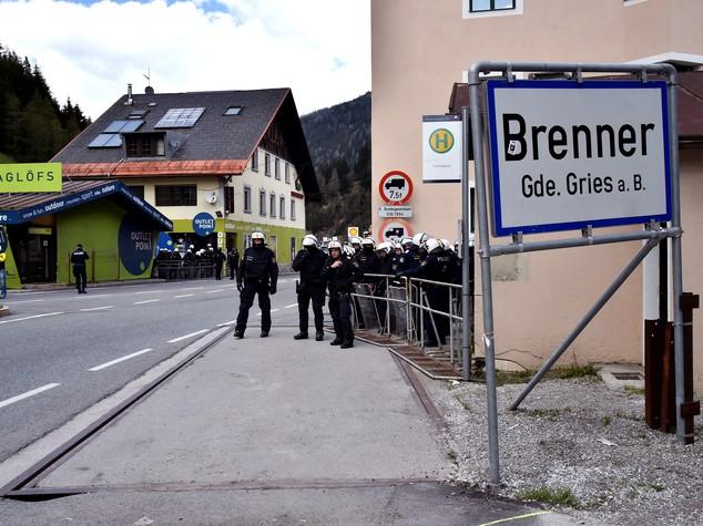 Austria si prepara a controlli al Brennero dai primi di giugno