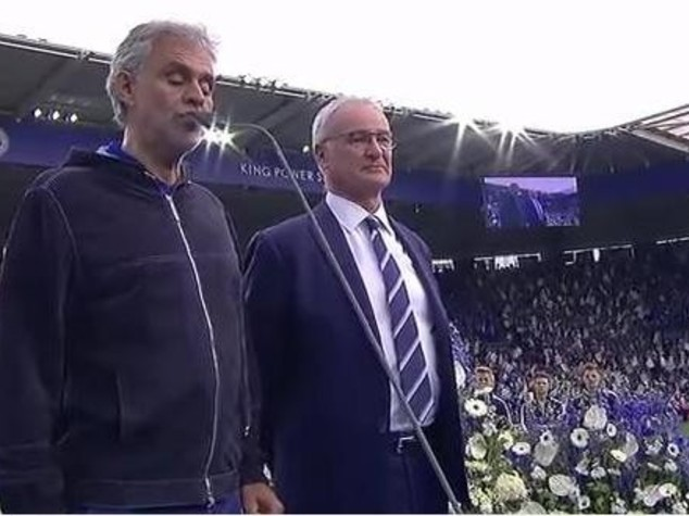 Boom su YouTube per il Bocelli di Leicester - VIDEO
