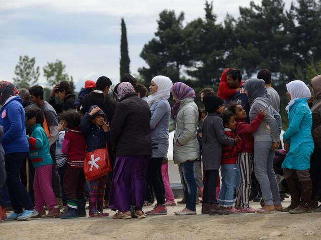 Via libera a sgombero campo profughi Idomeni -  VIDEO   -   FOTO