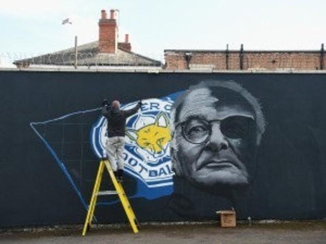 Un murale per Ranieri e gli eroi di Leicester