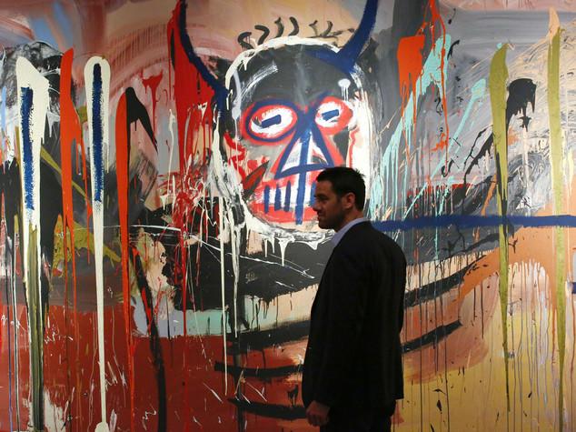 Asta record per Basquiat, 57,3 milioni dollari