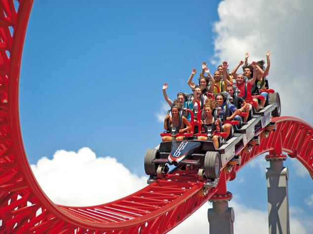Gardaland e i 180 fratelli alla riscossa, divertimento fino a 70 anni -  FOTO