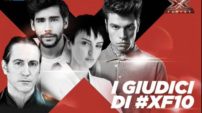 """Torna """"X Factor"""", in giuria Arisa, Soler, Fedez e Manuel Agnelli"""