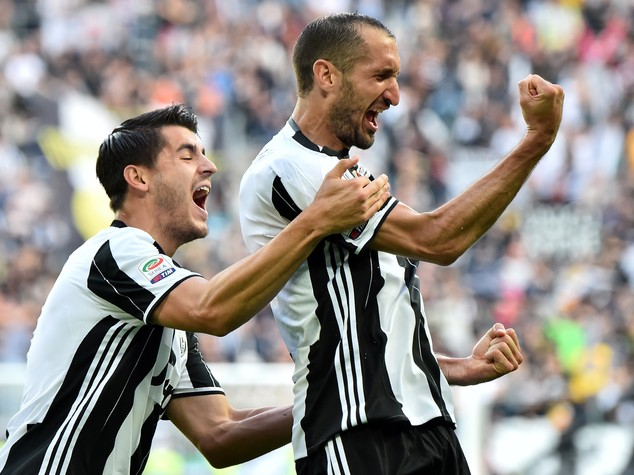 Juventus chiude con la 'manita', Samp travolta