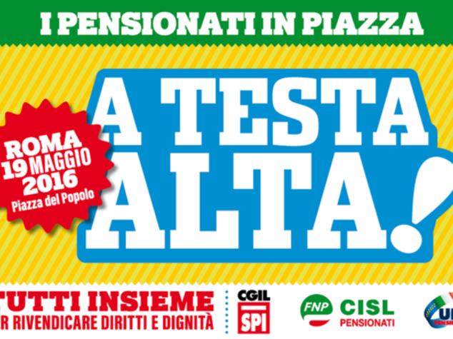 Pensioni: in 5000 dall'Emilia Romagna a Roma il 19/5
