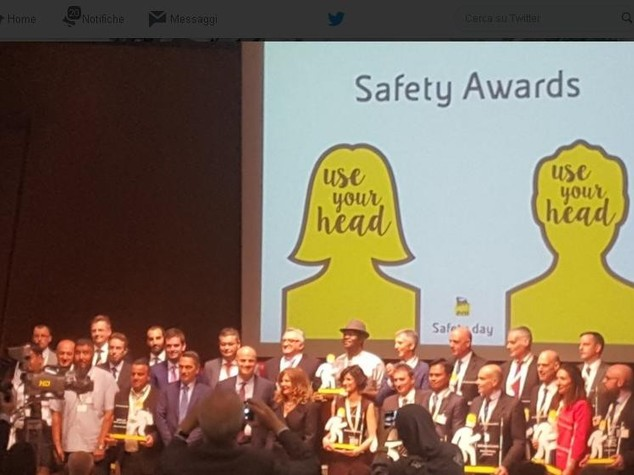Eni Safety Day notes 40 per cent drop in accidents in 2015