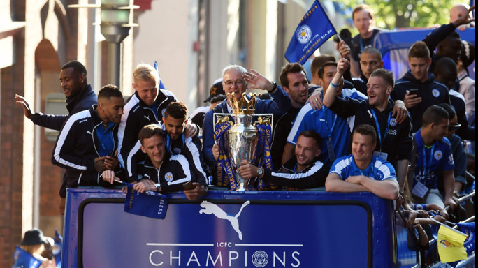 "Ranieri incoronato ""manager of the year"""