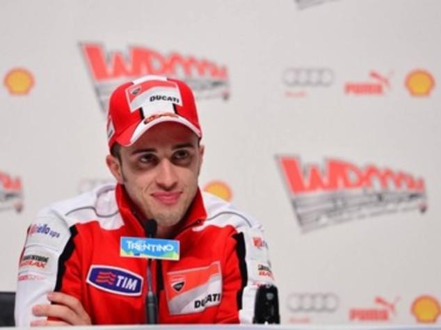 Gp Olanda, pole Dovizioso davanti a Rossi