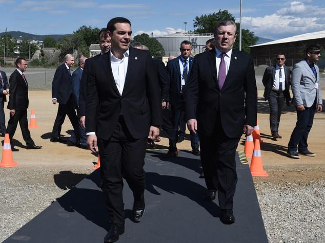 """Tap: al via lavori in Grecia, per Tsipras e' """"una nuova era"""""""