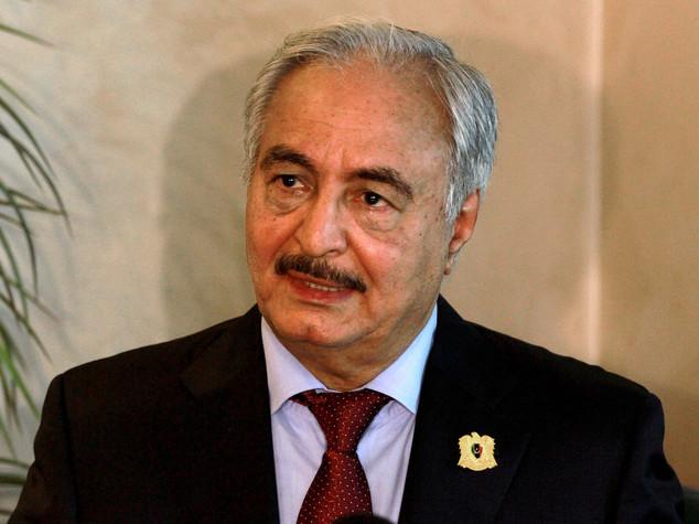 """Libia: no di Haftar a Serraj, """"non riconosco il suo governo"""""""