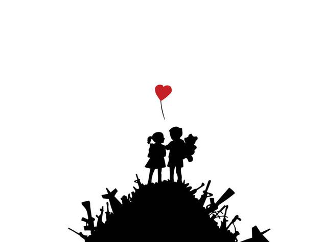 Banksy per la prima volta a Roma, con le sue opere denuncia -  FOTO