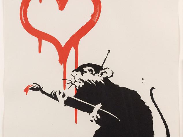 La prima di Banksy in un museo, la street-art tra quattro mura - VIDEO e FOTO