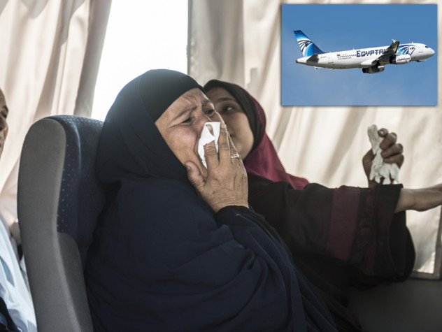 Mistero Egyptair, trovati rottami e resti umani
