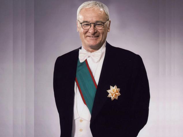 Claudio Ranieri Grande Ufficiale della Repubblica Italiana