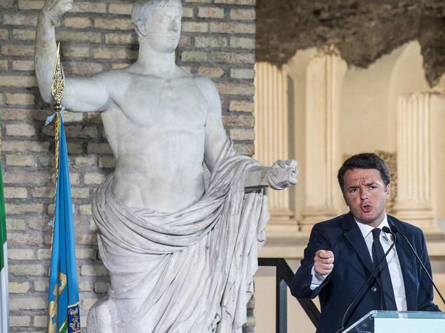 """Renzi, """"l'Italia deve accelerare di più"""""""