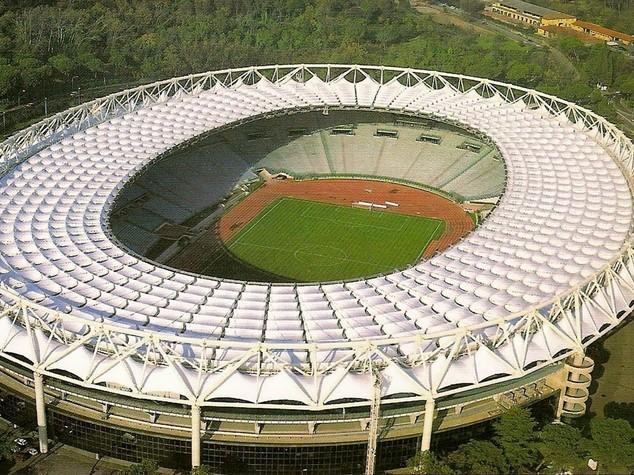 Coppa Italia, Olimpico blindato per la finale Milan-Juve - FOTO