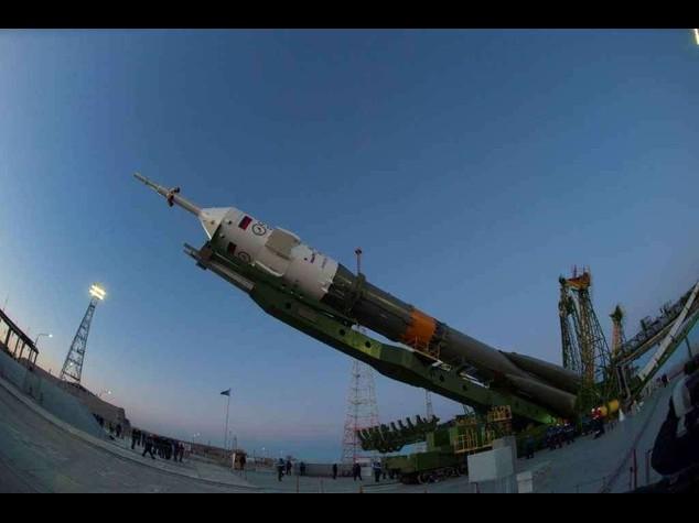 Spazio: pronto il razzo che portera' in orbita Samantha Cristoforetti