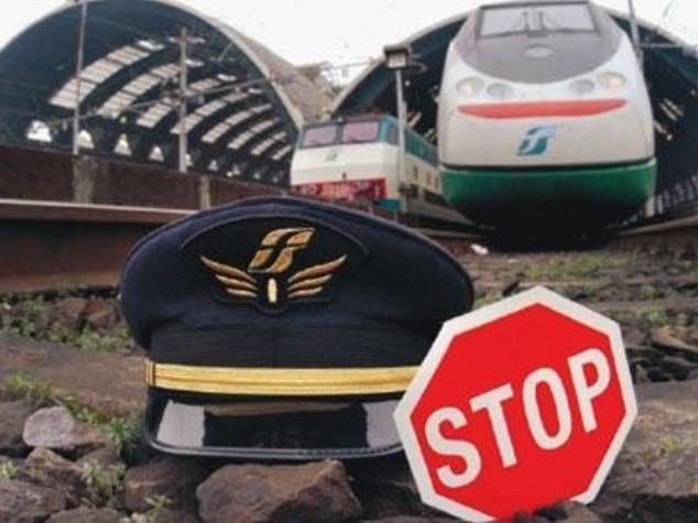 Sciopero treni, disagi dalle 21 del 24 alle 18 del 25 maggio