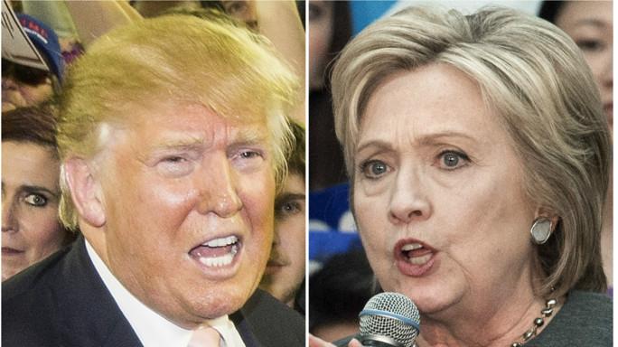 """Clinton allunga; Trump provocatorio """"E' instabile"""""""