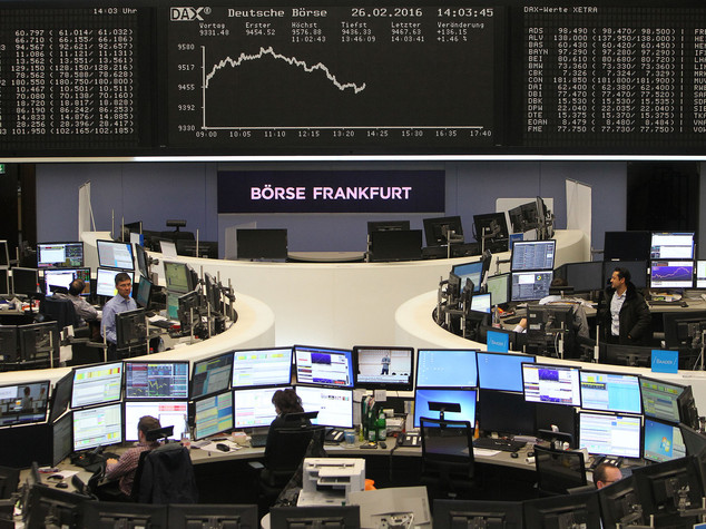 Borse europee deboli e poco mosse in partenza