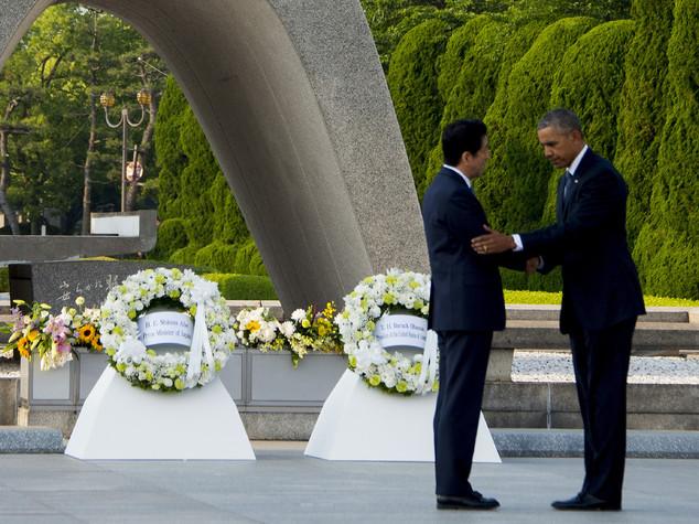 Obama a Hiroshima, omaggio a vittime ma senza scuse