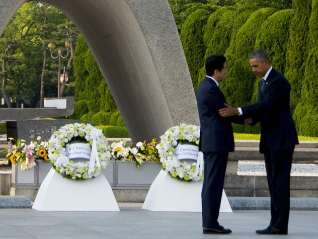"Obama a Hiroshima, ""un mondo senza armi nucleari"""