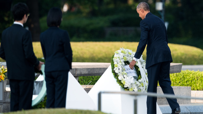 """Obama a Hiroshima """"un mondo senza atomiche"""""""