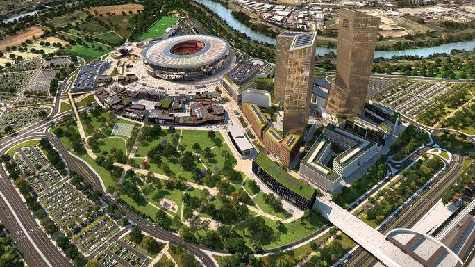 Stadio della Roma, c'è il progetto definitivo