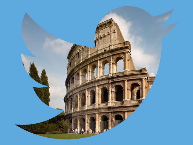 Cinque tweet per Roma