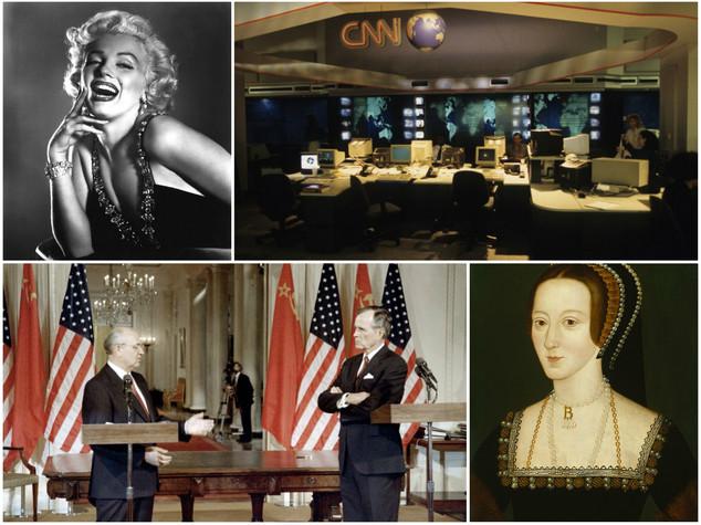 Dal compleanno di Marilyn alla Cnn, i fatti del primo giugno