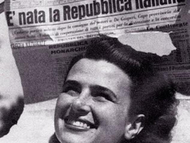 2 Giugno: 70 anni fa nasceva la Repubblica col viso da ragazza