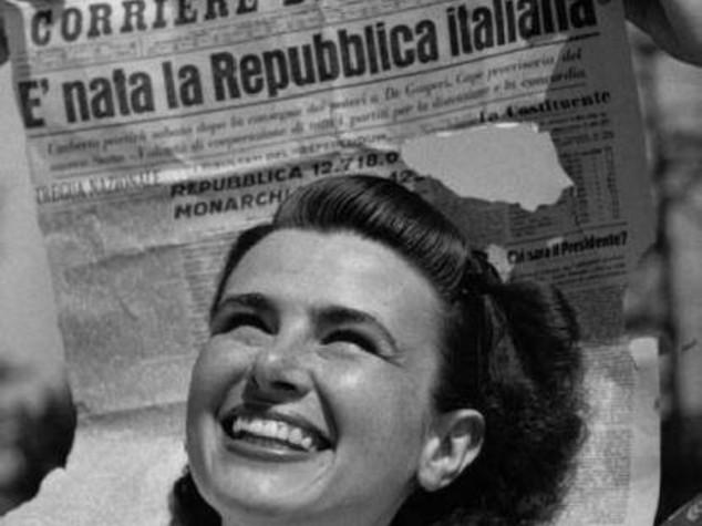 La Repubblica e' donna fin dal primo istante