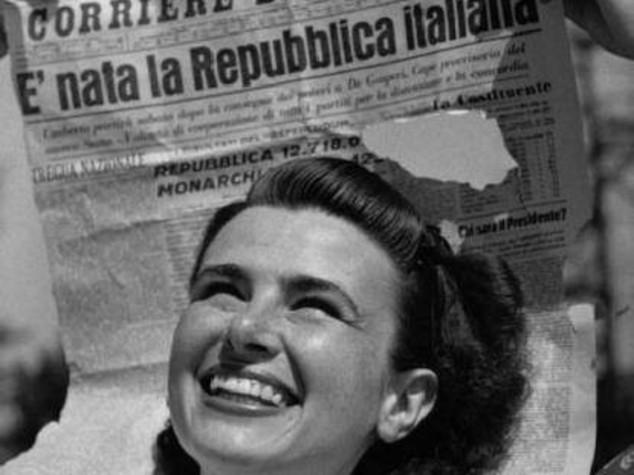 2 giugno 70 anni fa nasceva la repubblica col viso da ragazza for Repubblica parlamentare italiana