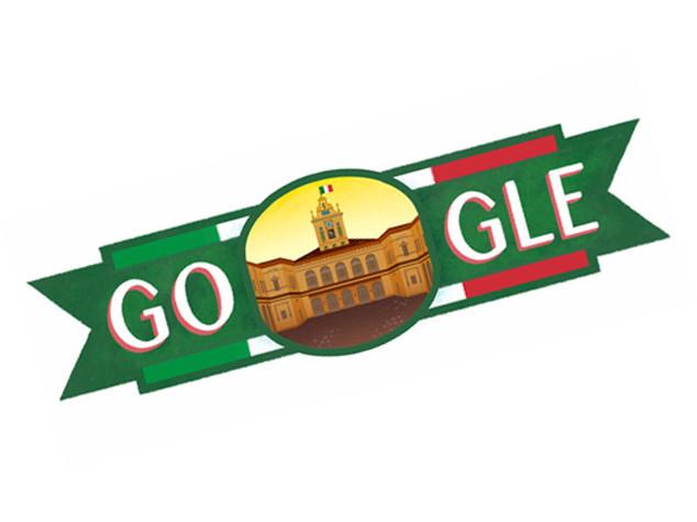 Doodle tricolore per i 70 anni della Repubblica