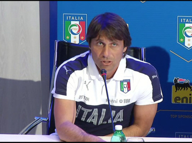 Football: Italy need fire inside, says manager Conte
