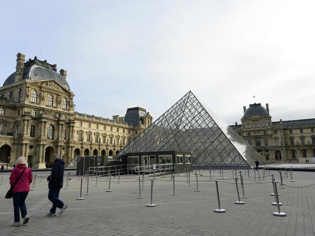 Il Louvre, lo scrigno d'arte piu' visitato al mondo