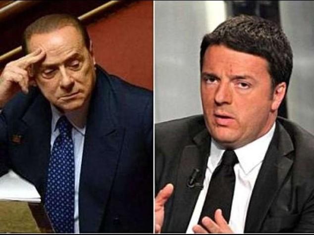 """Riforme: vertice Berlusconi-Renzi  Pd, """"confermato patto Nazareno"""""""