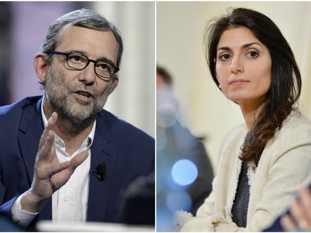 Roma: Exit poll, 'boom' della Raggi al ballottaggio con Giachetti