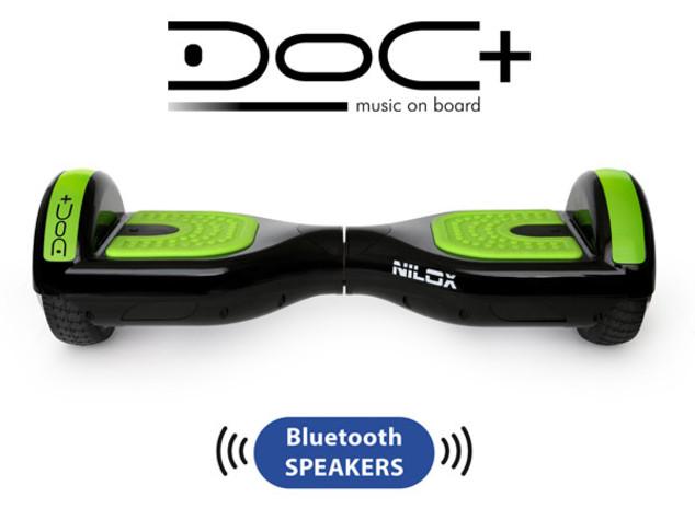Doc+ di Nilox porta la musica sullo skateboard elettrico