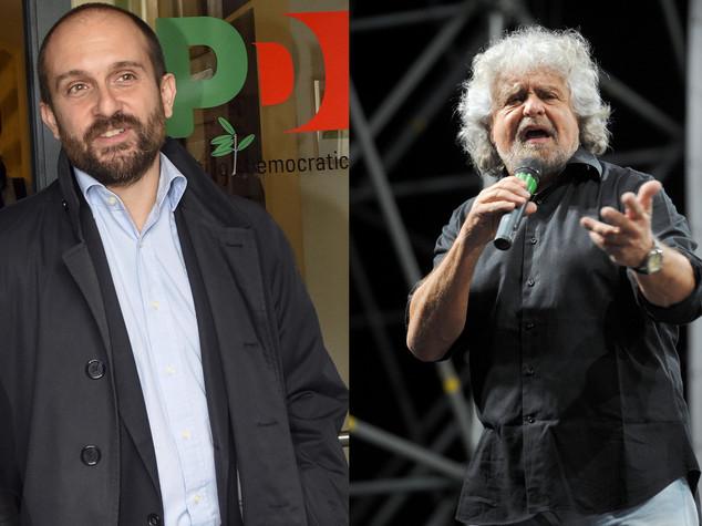 """Orfini all'attacco di Grillo """"fa schifo"""", scontro Pd-M5S"""
